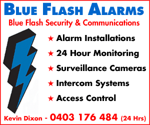 Blue Flash Alarms