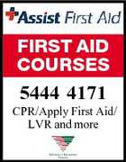 FIRST AID COURSES 5444 4171 CPR/Apply First Aid/ LVR and more