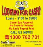 Loans - $100 to $2000 Same Day Approval No Security Needed No Early Payout Fees CALL US NOW!!! Australian Credit Lic 388992