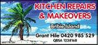 KITCHEN REPAIRS & MAKEOVERS Bribie Island Grant Hile 0420 985 529 4951161aa QBSA 1238168