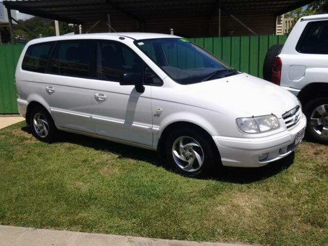 2007 Hyundai Trajet FO FX White 4 Speed Automatic Wagon