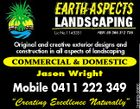 "Lic No 1145351 Original and creative exterior designs and construction in all aspects of landscaping COMMERCIAL & DOMESTIC Jason Wright ""Creating Excellence Naturally"" 3093243abHC Mobile 0411 222 349"