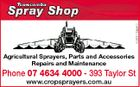 5283133aaHC Agricultural Sprayers, Parts and Accessories Repairs and Maintenance Phone 07 4634 4000 - 393 Taylor St www.cropsprayers.com.au