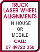 TRUCK LASER WHEEL ALIGNMENTS IN HOUSE OR MOBILE CALL: 07 49722 350