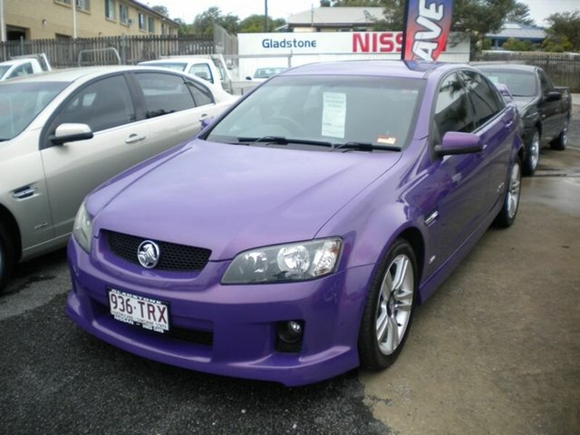 2007 Holden Commodore VE SS Purple 6 Speed Automatic Sedan