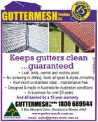 Trading Co 4422948acHC GUTTERMESH GUTTERMESH Trading Co