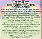 5585954aaHC Open Day Sunday 16th March 2014 9.00am - 4.00pm Come to the River House Open Day and spend the day in a relaxing and spiritual atmosphere. Why not bring along your friends and help them to start an amazing spiritual journey? On the day you will find Psychic Readings, Spirit Guide Drawings, Reiki, Crystal Healings, Massage, Ear Candling, ThermaDome, Ionic Detox, stunning Crystal, Salt Lamps, jewellery, New Age products and more! A great way to balance, pamper and re-energise yourself. Bookings for Psychic Readings & Massage can be made on our website www.theriverhouse.com.au or by email info@theriverhouse.com.au Opportunities are always available for anyone that may be interesting in taking part as a Stallholder to book or for more information email info@theriverhouse.com.au 193 Brisbane Terrace Goodna QLD www.theriverhouse.com.au