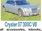 Crysler 07 300C V8 all accessories, lobooks, 98,000kms, excel cond, $25,500 ono Bundaberg 0428 268 208