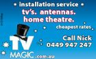 5107588ac installation service tv's. antennas. home theatre. cheapest rates Call Nick 0449 947 247 .com.au