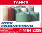 ATEK ENGINEERING 7 Crittendens Road, Memerambi www.atekengineering.com 5369774ab TANKS  4164 2329