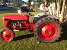 Great little tractor, runs well, rego, new battery, spare rims. $2,450. Zilzie. Ph 0409383252