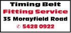 Timing Belt Fitting Service 35 Morayfield Road  5428 0922