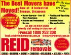 fo The Best Movers have yoru'mthoveevbest e ll er Now at 8 Industrial m ak e Moved! Avenue, Urraween * Packing and Unpacking Freecall 1800 253 308 REID 3938025abHC * Owner Operator - Over 25 SPECIALISING IN: Years Experience Service * CONTAINERS * Reliable and Professional * Backload Rates * Storage Facilities Service * STORAGE QLD, NSW & VIC WEEKLY SERVICES * TRANSPORT Friendly staff waiting to take your call Email: admin@reidremovals.com.au www.reidremovals.com.au removals * Local * Country * Interstate CAIRNS * BRISBANE * SYDNEY * CANBERRA * MELBOURNE * ADELAIDE * PERTH
