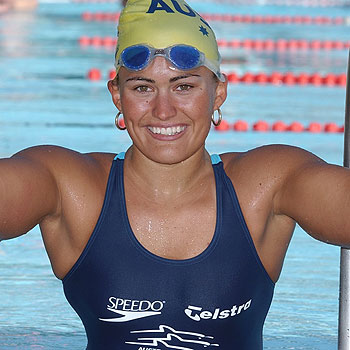 Maroochydore paralympic swimmer Marayke Jonkers, 25, will feature in the this month's edition of Cosmopolitan magazine, after being named as one of five finalists in the inaugural Fun Fearless Female Awards.