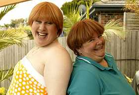 Kath and Kim will be hosting an extra famous face as Little Britain's Matt Lucas stars in the Sunday September 23 episode on Channel Seven at 7:30pm.