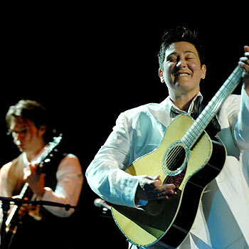 kd lang: impressive and entertaining