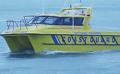 Sharks circle sinking boaties | Sunshine Coast Daily