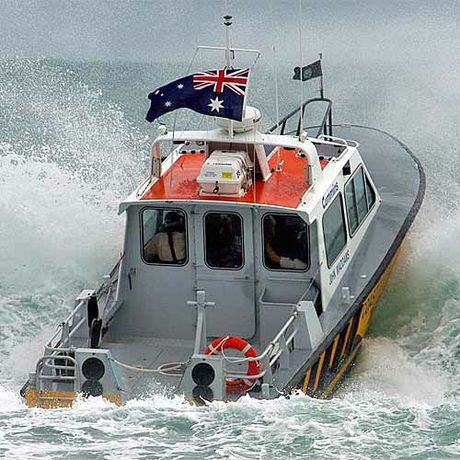 Noosa Coast Guard in action.