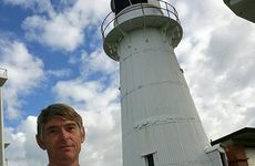Coast Icon:Architect Roger Todd is on the committee of the old Caloundra lighthouse, which will be open to the public on Sunday. Photo:Barry Leddicoat/183020