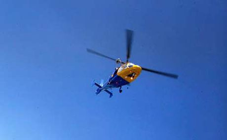 The RACQ-CQ rescue helicopter. [File photo]