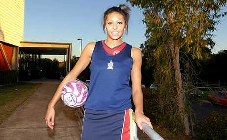 Brisbane SOuth Wildcats' Chanel Gomes.