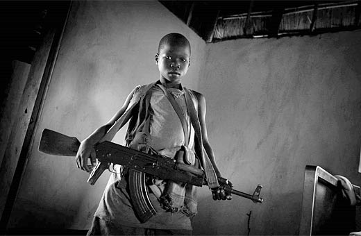 Child soldiers. Photo: Kevin Evans