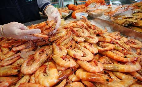 The farmed prawn industry has grown by close to 50% in five years.