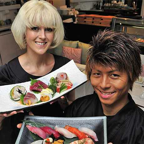 Danielle Gjestlands and Shinichi Maedas Wasabi Restaurant. Photo: Geoff Potter/n21928