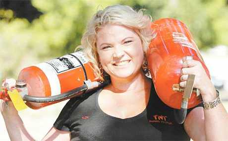 TNT Training Solutions owner Natasha Fee is ready to give Mackay workers some training on how to handle difficult situations, and she is the only woman in the region to offer the solutions.