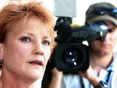 A FILM charting Pauline Hanson's controversial life is close to being given the green light as producers meet studio executives in New York.