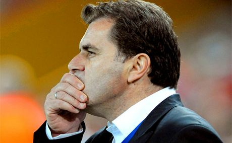 Brisbane Roar coach Ange Postecoglou.