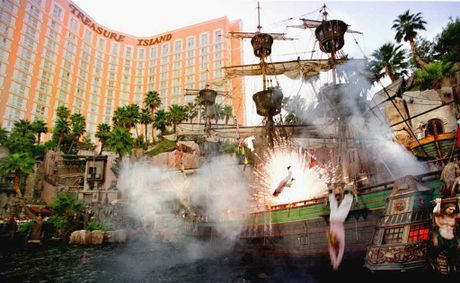 Treasure Island, Las Vegas.