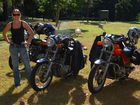 Me with our bikes at Amama park in Amamoor.