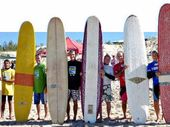 THE Noosa Wrecks and Relics Over 50s Longboard Get Together was held in challenging but consistent offshore conditions at Castaways Beach last weekend.