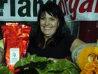 Rhonda Hammer from Hinterland Organics at a previous Eumundi Food Fest.