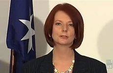 "At a media conference in Parliament House, Ms Gillard told the media she was ""truly honoured"" to become prime minister."