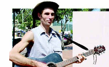 Busker Andrew Finlay is considered a law-breaker in the Whitsundays, but that could change tomorrow if the council approves a policy allowing busking in the region.