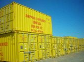 Old stock and depot equipment from Shipping Container Rentals will go under the hammer.