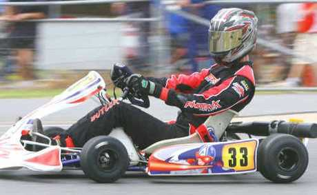Gladstone's Craig Butler should give the clubman lite category a nudge on Sunday during round five of the SuperCheap series at the Gladstone Kart Club.
