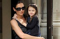 Katie Holmes and her daughter Suri.