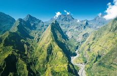 Reunion Island, east of Madagascar.