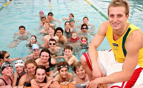 Future Swim Stars Get A Pep Talk Sunshine Coast Daily