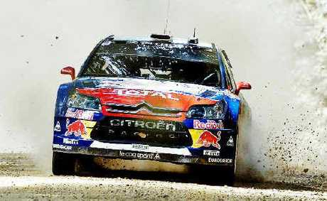 Five time world champion Sebastien Loeb has won the first Repco Rally Australia with teammate Daniel Elena.
