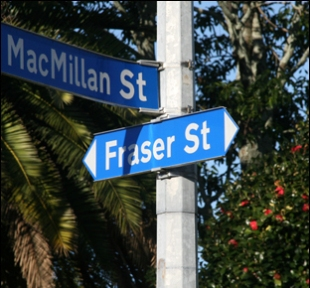 Fraser Street. Photo: Stuart Whitaker
