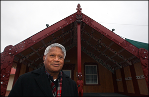 Rawiri Te Whare who died today after a long battle with diabetes.