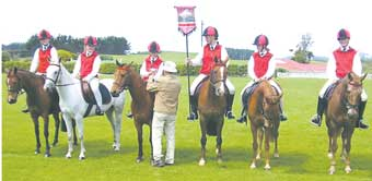 Stratford Pony Club competitors