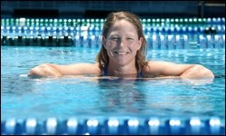 Lise Mackie won Olympic bronze in Atlanta in 1996 as a member of Australia's 4x200m women's freestyle relay team.