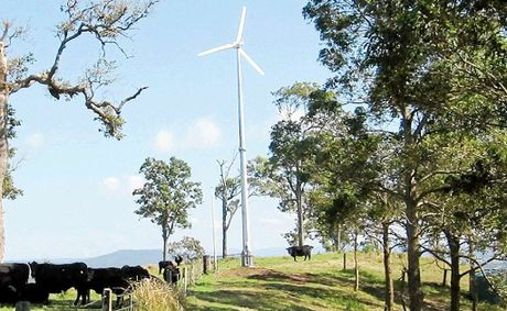 A $270 million wind farm in Crows Nest is still on the books.