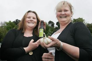 Sue Howe and her daughter Nicky enjoyed success at the Taste of Auckland festival with their Howe Saucy brand products.