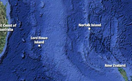 Norfolk Island, the site of a new personal carbon trading trial is 3 hrs from Australia by plane.